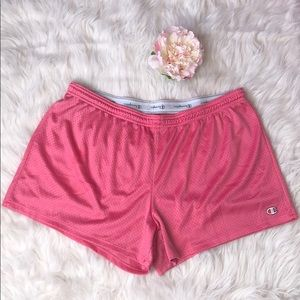 Champion Mesh Shorts XL Gorgeous Salmon Pink